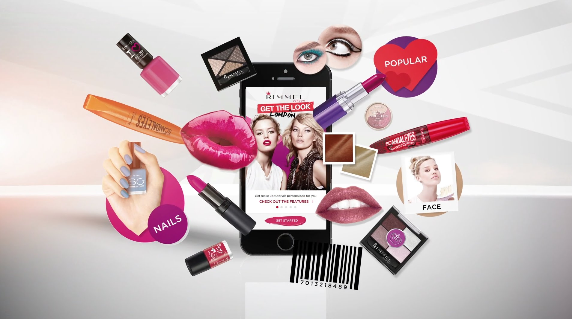 Rimmel Unveils Augmented Reality App