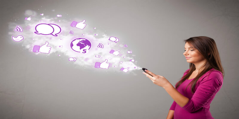 Social Media Platforms Leveraging a Way for Mobile App Marketing