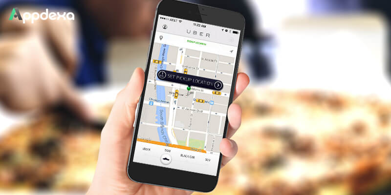 Taxi Hiring App Feature