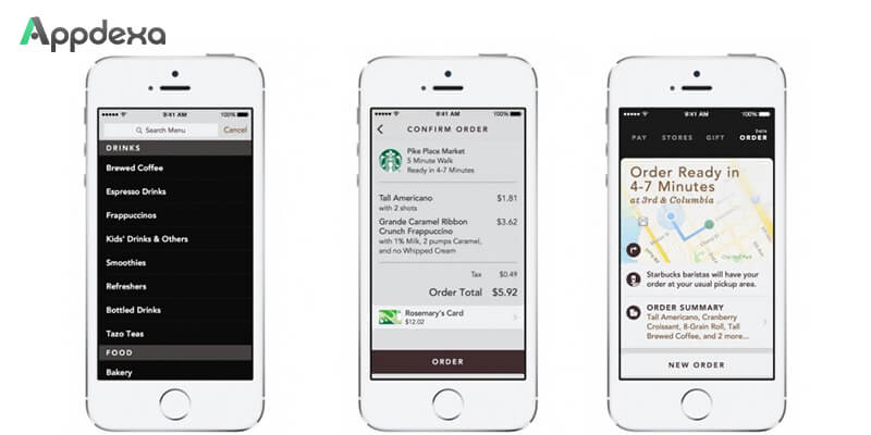 Payment method of Starbucks