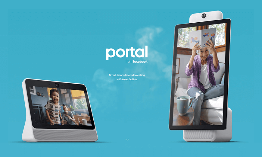 Facebook Launches Portal, Its Hands-Free Video Calling Device For Home